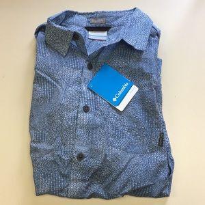 Columbia Men's Under Exposure Short Sleeve Shirt S